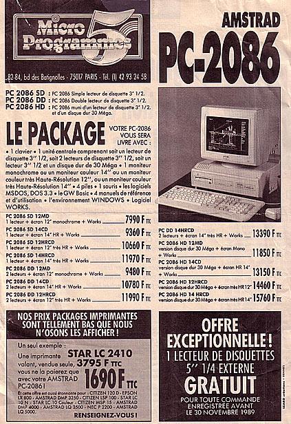 Amstrad PC-2086