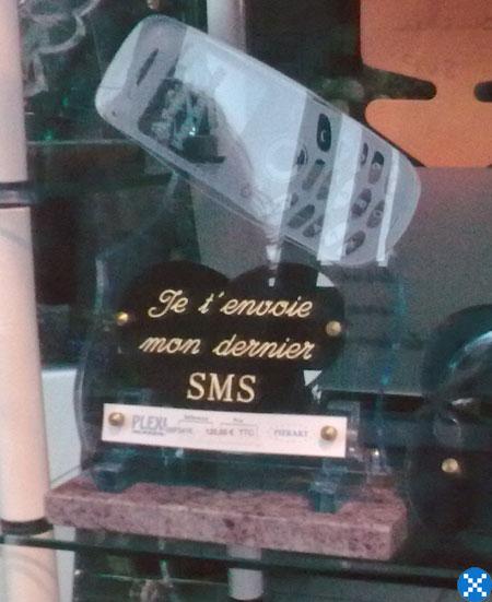 plaque funéraire 2009